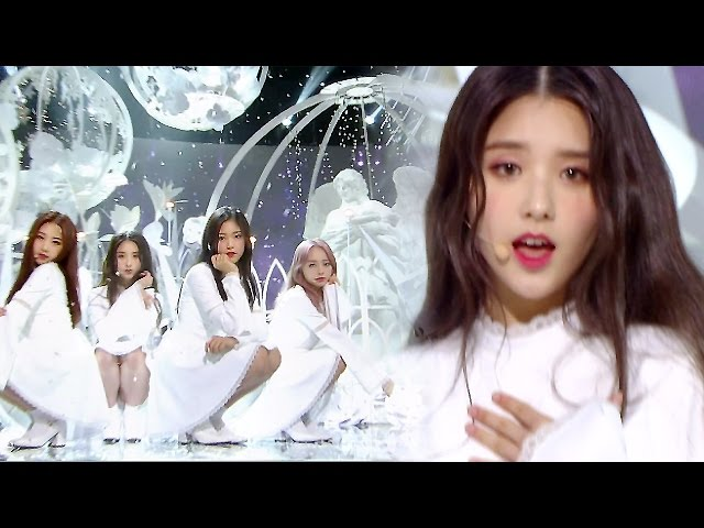 《Comeback Special》 LOOΠΔ 1/3 (이달의 소녀 1/3) - Sonatine (알 수 없는 비밀) @인기가요 Inkigayo 20170430