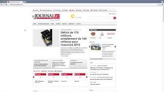 Tutorials des Journal du Jura, lösen eines Tageszugang