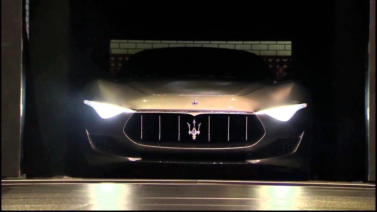 2019 Maserati Alfieri Cabrio >> Maserati Alfieri Concept Car. Unveiling at 2014 Geneva Auto Show - YouTube