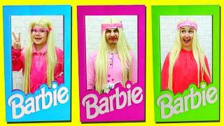 НАША Семья КАК Куклы Барби! Что ПРИДУМАЛИ Рома и Папа?