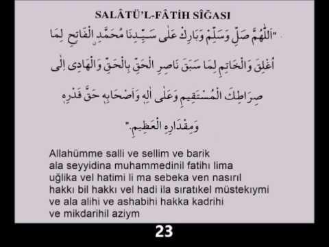 Salavat ı Fatih 500 adet