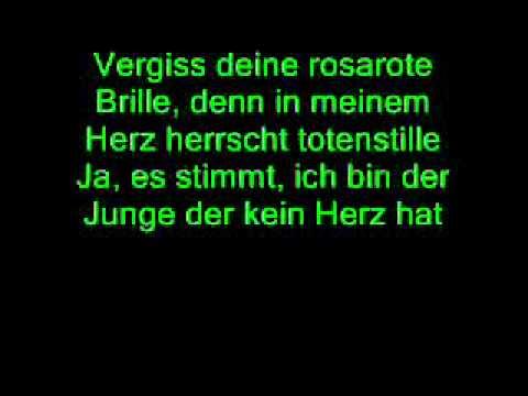 FARD - Der Junge ohne Herz (lyrics)