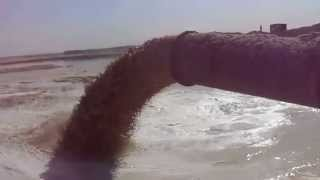 New Suez Canal: The first video of the new channel sedimentation basins
