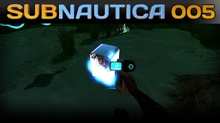 Subnautica [005] [Die Suche nach Fragmenten] [Let's Play Gameplay Deutsch German] thumbnail