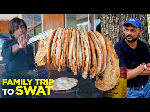 Family Trip to Swat   Delicious Food in Mingora   Chair Lift at Mallam Jabba   Pakistan   EP01