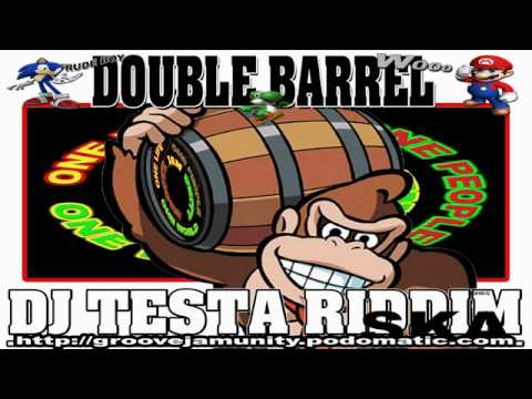 DAVE &  ANSELL COLLINS - DOUBLE BARREL - DJ TESTA RIDDIM - GROOVEJAMUNITY