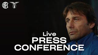 INTER vs LAZIO | LIVE | ANTONIO CONTE PRE-MATCH PRESS CONFERENCE | 🎙️⚫🔵 [SUB ENG]