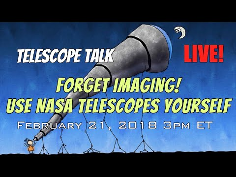 Forget Backyard Imaging! Use NASA Telescopes Yourself