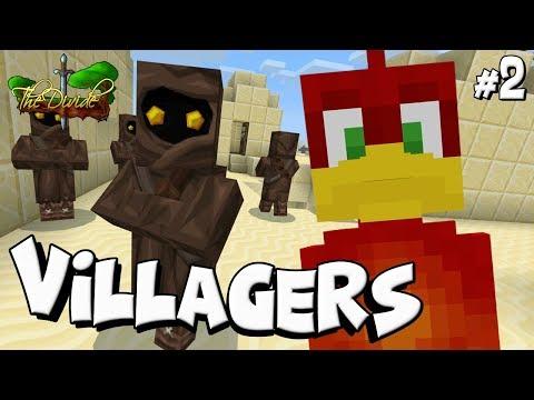 Minecraft xbox : WE FOUND A HIDDEN VILLAGE !! : THE DIVIDE [02]
