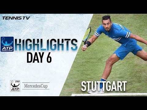 Highlights: Kyrgios Puts On Show In Stuttgart 2018