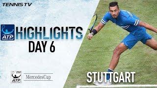 Highlights: Kyrgios Puts On Show In Stuttgart 2018