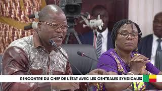 Video Rencontre Patrice Talon - responsables confédérations syndicales : deuxième partie download MP3, 3GP, MP4, WEBM, AVI, FLV Oktober 2018