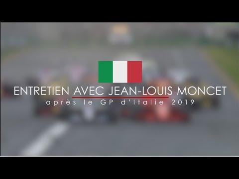 Entretien avec Jean-Louis après le GP F1 d'Italie 2019
