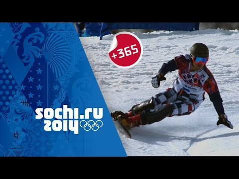 Vic Wild Wins Men's Snowboard Parallel Slalom - Full Event |