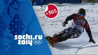 Vic Wild Wins Men's Snowboard Parallel Slalom - Full Event | #Sochi365