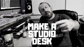 DIY New Studio Desk | 100 Subscribers | Logic Pro X | Kyle Beats Kingdom Drum Kit