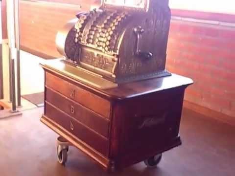 Antique National Cash Register NCR Model 79. Year 1906. For Sale