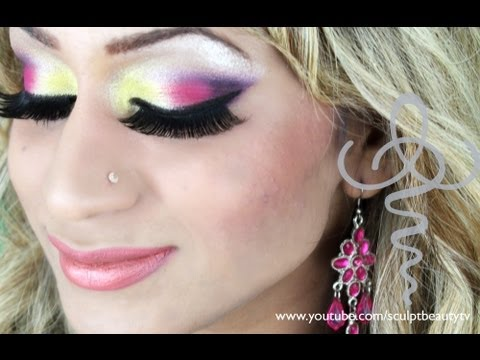Exotic Eyes Make Up Tutorial Youtube
