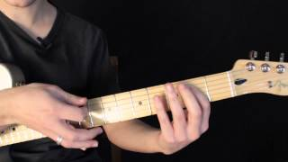 Como Tocar El Riff De Mr Brownstone- Guns And Roses - Tutorial inspirado en salsh