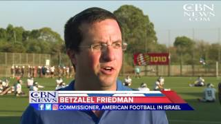 NFL Hall of Famers Touch Down in Israel