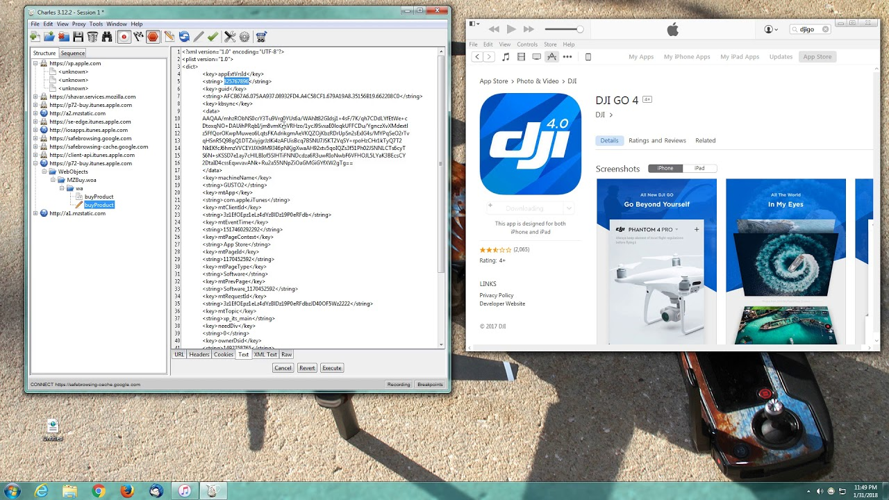 DJI Go rollback to any version made easy