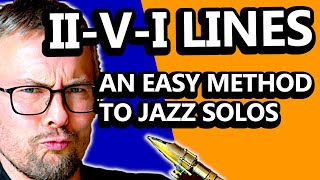 [VIDEO] II-V-I LINES – AN EASY METHOD TO JAZZ SOLOS