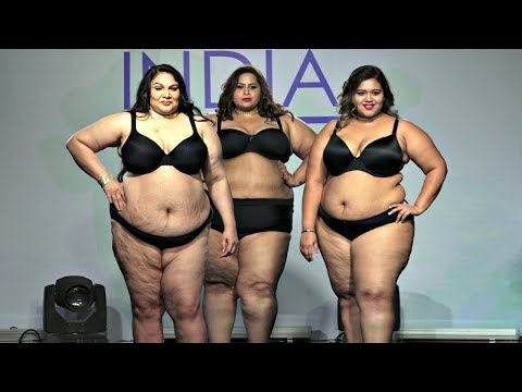 Plus Size Model Fashion Show.  http://bit.ly/2MFPP4N