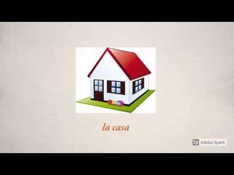 Léxico de la Casa - Vocabulario de la Casa