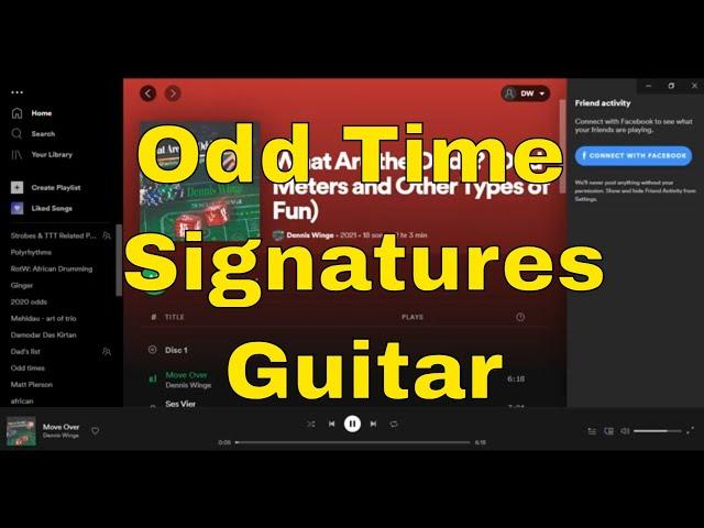 Odd Time Signatures Guitar Trio Album