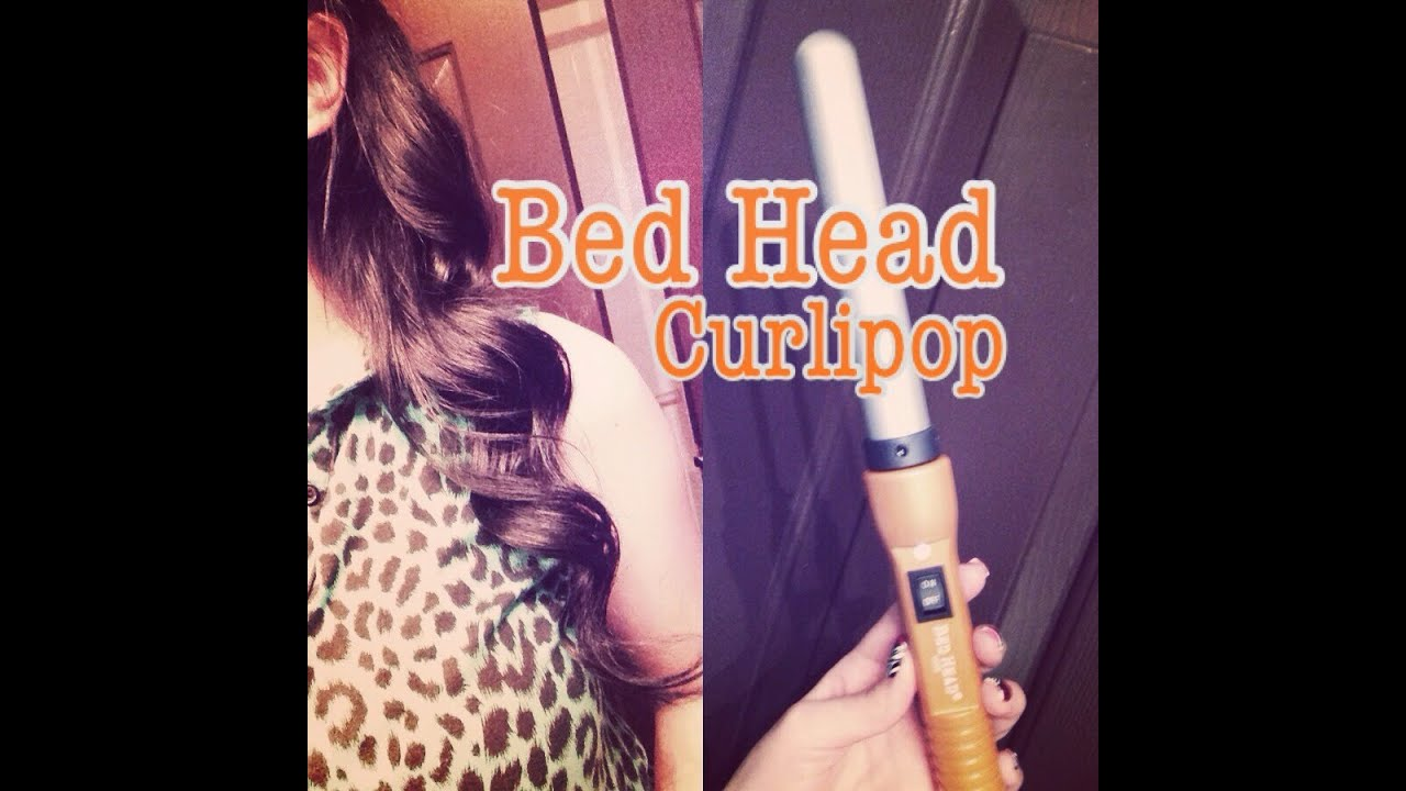 """bedhead curlipops 1 """" styling wand quick review - youtube"""