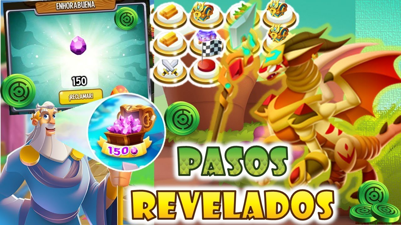 GANA 150 GEMAS -  ISLA LABERINTO TORNEO TRIBAL [TODOS LOS PASOS REVELADOS] Dragon Coyota De Arena