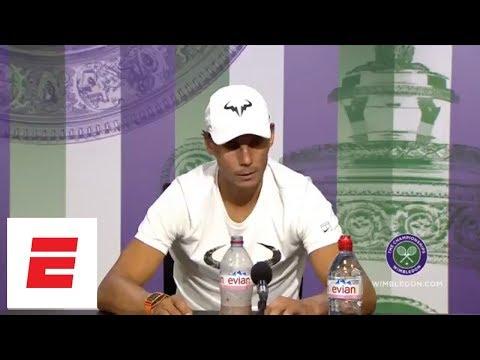 Rafael Nadal & Novak Djokovic vs. 2018 Wimbledon Post Semifinal Press Conference