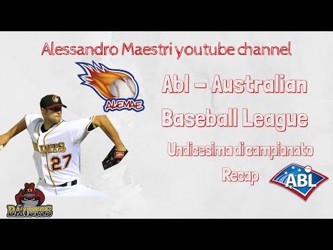 Australian baseball league - Undicesima giornata di campionato - Recap