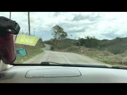 Malton to Melrose Hill roast yam Manchester Jamaica - February 2017
