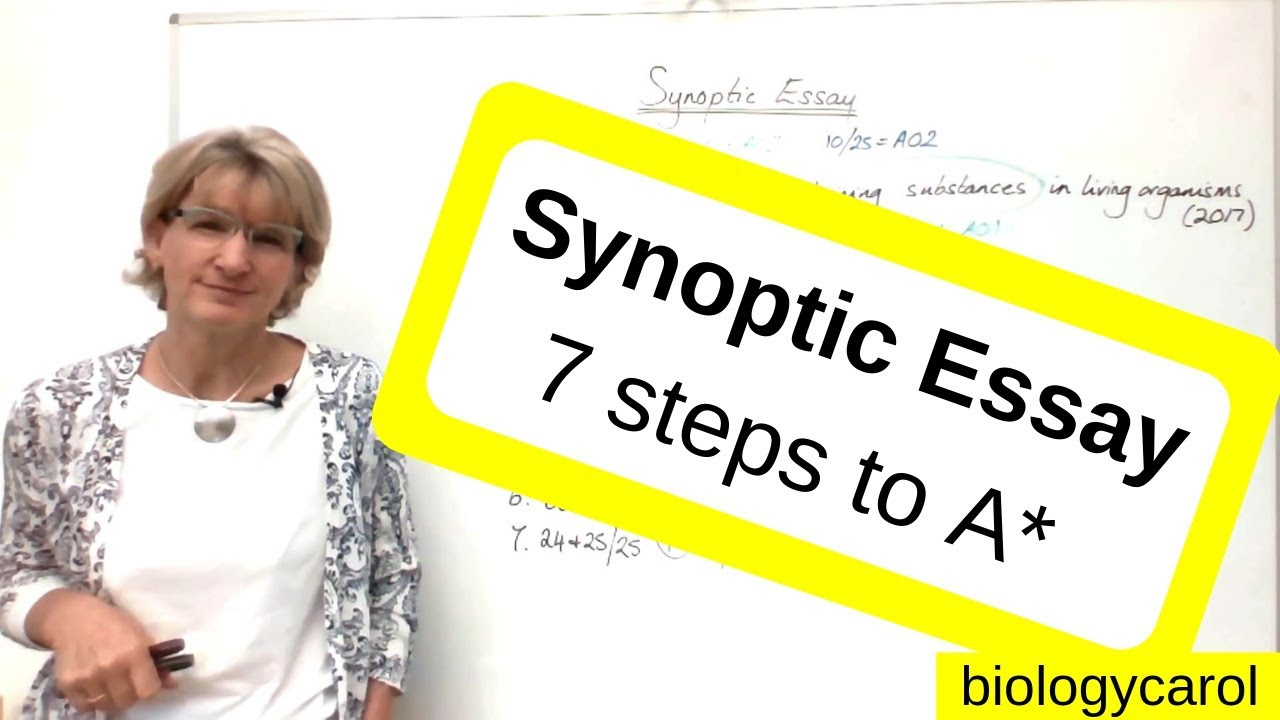 synoptic essay    steps to a   youtube synoptic essay    steps to a