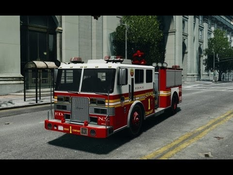 Grand Theft Auto V - Fire Truck (LOCATION) - YouTube