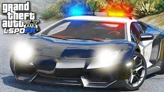 GTA 5 LSPDFR SP #97 - Aventador