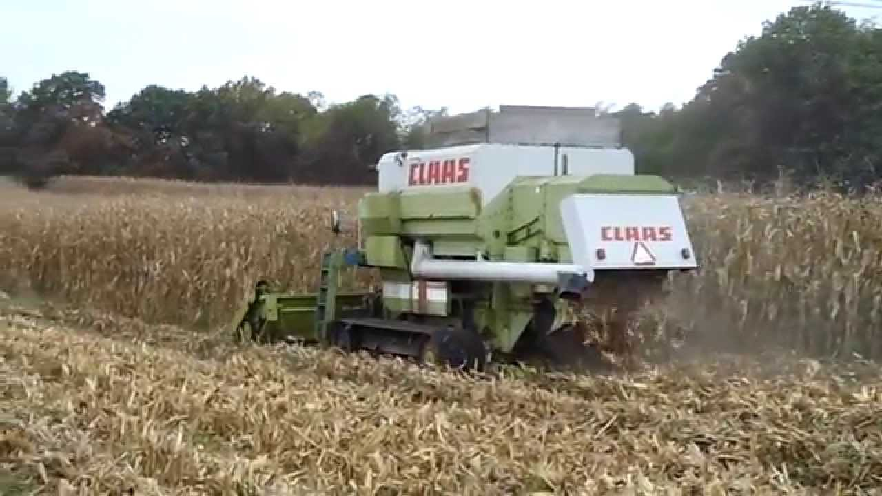 14 Tires For Sale >> Claas Full Track Combine for Sale 116 CS - YouTube