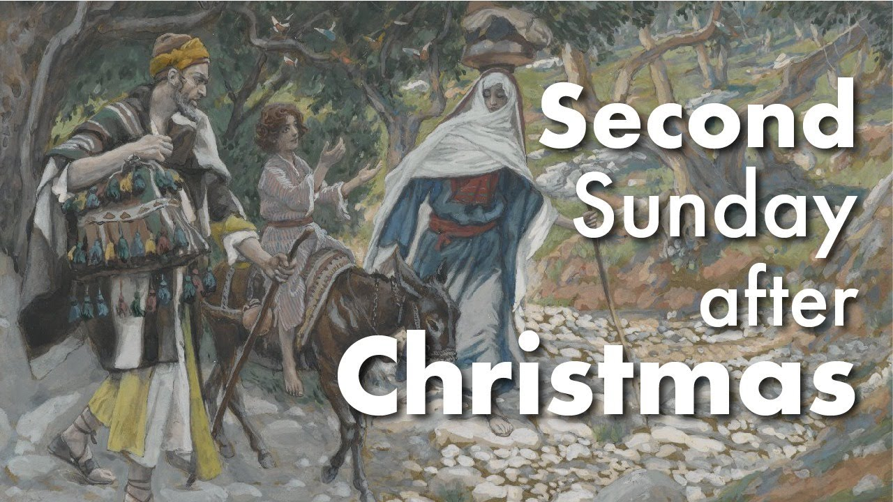 Second Sunday after Christmas 1/5/20 - YouTube