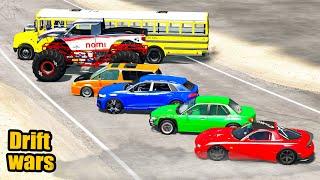 Drift Tournament - Who Is Best Drift Car? - Beamng Drive