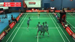 Giovani Dicky Wisnu Cahyo S EXIST JAKARTA VS Frengky Wijaya Sabar Karyaman G EXIST JAKARTA