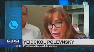 Polevnsky: Encuesta para definir candidato para el gobierno de Puebla la hará nuestro equipo