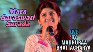 Mata Saraswati Sharada | Madhuraa Bhattacharya Live | Good Morning Akash