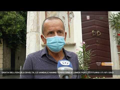 GRATA DELL'EDICOLA DIVELTA, LE VANDALE HANNO TEMPO SINO A LUNEDI' PER COSTITUIRSI | 17/07/2021