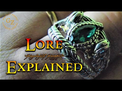 The Ring Of Barahir - Lord Of The Rings Lore
