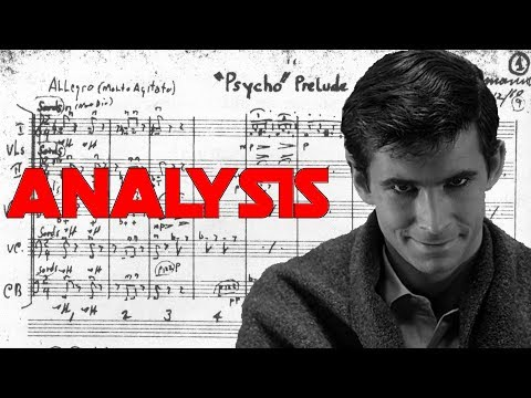 """Psycho: """"Prelude"""" by Bernard Herrmann (Score Reduction and Analysis)"""