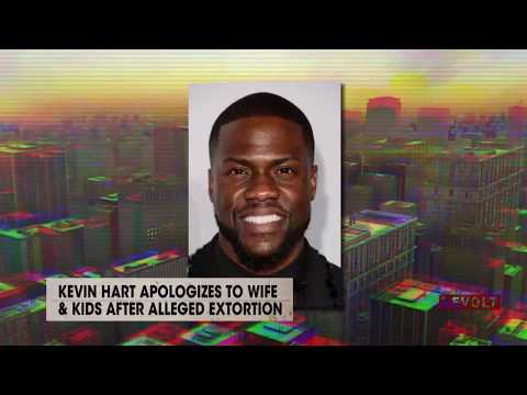 Kevin Hart apologizes to wife & kids after alleged extortion | Rumor Report