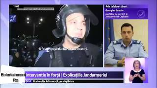 Interventie in forta | Jandarmeria da explicatii