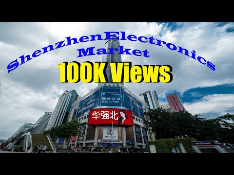 Shenzhen Electronics Market China Part 1