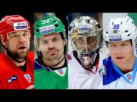 Лучшие канадские игроки КХЛ за 7 сезонов / Top 10 Canadian players for KHL's 7 seasons